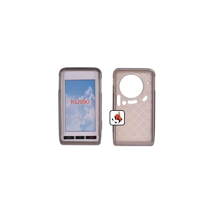 Comprar Capa em Silicone LG Ku990 Preto Transparente da LG ...