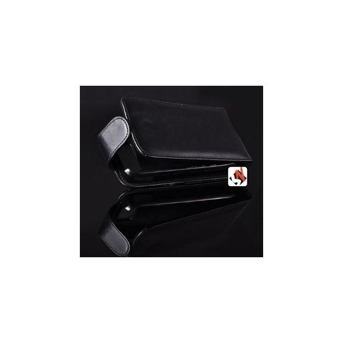 comprar capa protetora htc wildfire g8 flip vertical preta. Black Bedroom Furniture Sets. Home Design Ideas