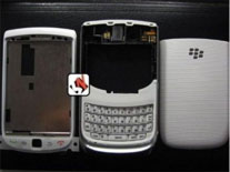 Capa Blackberry 9800 Torch Branca Completa Original