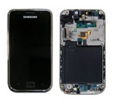 Touchscreen com Display + Aro Cinza Prata Samsung i9000 Galaxy S Original