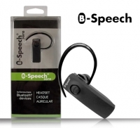 Auricular Bluetooth B-Speech Sora (2 em 1) em Blister