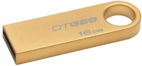 Pen Kingston 16GB Usb2 Datatraveler SE9 Gold Metal em Blister