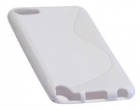 Capa em Silicone  S-CASE  iPod Touch 5 Branca Opaca