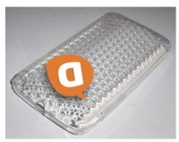Capa Silicone Vodafone Smart Mini OT-4010 Transparente