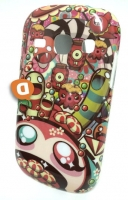 Capa Rigida Fashion  Happy  Samsung S6810 Galaxy Fame