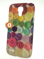 Capa Rigida Fashion  Buttons  Samsung i9190 Galaxy S4 Mini