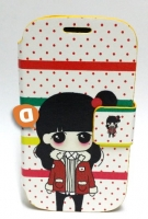Capa Protetora  Flip Book Fashion Girl  Samsung i8730 Galaxy Express