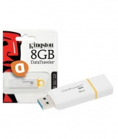 Pen Kingston 8GB Usb 3.0/2.0 Datatraveler DTIG4/8GB Branca em Blister