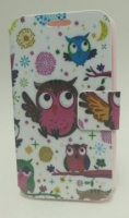 Capa Protetora  Flip Book Fashion Bird  LG L70