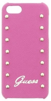 Capa Rigida GUESS Studded para Iphone 5, Iphone 5S Rosa em Blister
