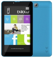 Tablet Billow X700 3G 7.0 QuadCore 1.5GHz 8GB Azul Claro