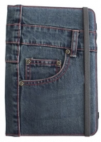 Capa  Flip Book  APPROX para Tablet Universal 9  10  10.1 Jeans