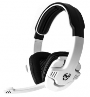 Headset Gaming Krom Krush Zero Stereo Branco