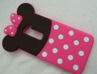 Capa Silicone 3D  Minnie  Alcatel Pop C7 (Alcatel OT7041)