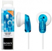 Headphones Sony Stereo MDR-E9LP Jack 3.5mm Azul em Blister