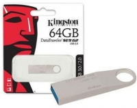 Pen Kingston 64GB Usb 3.0 Datatraveler SE9 Metal em Blister