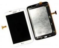Touchscreen com Display SamsungGalaxy Note 8.0 (Samsung N5100, N5100) Branco
