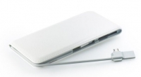Bateria Externa  Power Bank  Blue Star 12000mAh 2A Branco em Blister