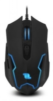 Rato Optico Gaming com fio 1Life GM: Scout 3200dpi Preto