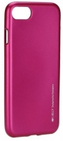 Capa em Silicone  Goospery i-Jelly  iPhone 7 Iphone 8 Rosa Opaco em Blister