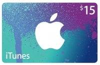 iTunes Gift Card 15?