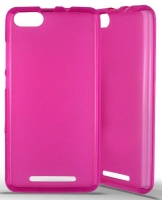 Capa Silicone WIKO Jerry, Wiko Lenny 3  Soft  Rosa Transparente