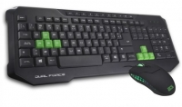 Teclado + Rato BG Gaming Dual Force (Layout PT) Preto