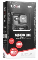 Camara Despotiva SJCAM SJ5000XE Elite 2.0 LCD Screen 4K Preto