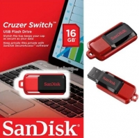 Pendrive Sandisk Cruzer Switch 16GB em Blister