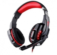 Headset Gaming Z8tech H900 Keach PC/PS4 Vermelho/Preto