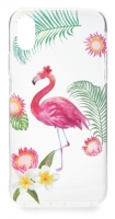 Capa Xiaomi Redmi 5 Fashion  Flamingo  Silicone Transparente