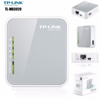 Router 3G/4G Wireless N TP-LINK TL-MR3020 com Porta de Rede