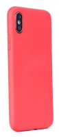 Capa Iphone 7, Iphone 8 Silicone  Soft  Vermelho