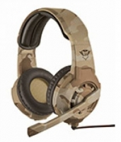Headset Gaming Trust GXT310C PC, PS4, XBOX Desert Camo em Blister