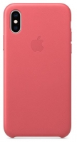 Capa Iphone X, Iphone XS Apple MTEU2FE/A Leather Case Rosa em Blister