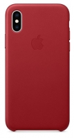 Capa Iphone X, Iphone XS Apple MRWK2FE/A Leather Case Vermelho em Blister