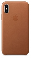 Capa Iphone X, Iphone XS Apple MRWP2FE/A Leather Case Castanho em Blister