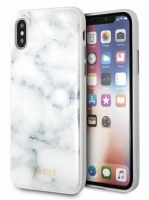 Capa Iphone X, Iphone XS GUESS Marble Branco GUHCPXHYMAWH em Blister