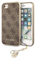 Capa Iphone 7, Iphone 8 GUESS Charms Collection GUHCI8GF4GBR Castanho em Blister