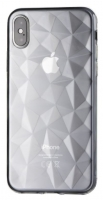 Capa Iphone XS Max Silicone Fashion  Prisma  Transparente
