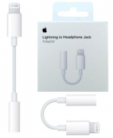 Adaptador Lightning MMX62ZM/A de Auricular Iphone 7, 7 Plus, Iphone 8, 8 Plus, Iphone X, Xs Jack 3.5mm Original em Blister