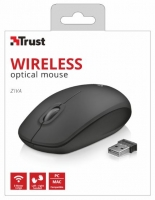 RatoTrust Ziva Wireless Optico USB Preto em Blister 21948