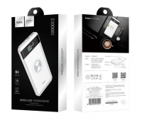 Bateria Externa  Power Bank  10000mAh Hoco J11 Branco Blister
