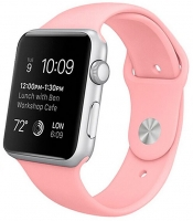 Bracelete Apple Watch Series 1 / 2 / 3 / 4 (38 / 40 mm) Goma Rosa