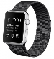 Bracelete Apple Watch Series 1 / 2 / 3 / 4 (38 / 40 mm) Metal Preto