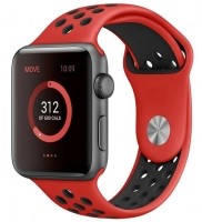 Bracelete Apple Watch Series 1 / 2 / 3 / 4 (42 / 44 mm) Sport Vermelho