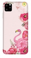 Capa Iphone 11 Pro Max 6.5  Flamingo Rosa