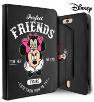 Capa  Flip Book  Minnie and Friends para Tablet Universal 10  Preta