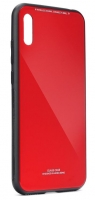 Capa Iphone 11 Pro Max 6.5   Glass  Silicone Vermelho Opaco