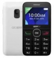 Alcatel 2008 Black Pure White Livre